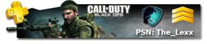 Black-Ops Gamer Card, PSN Black-Ops Card, PSN CODBO Gamercard